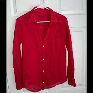 Frank & Eileen light weight tissue button shirt